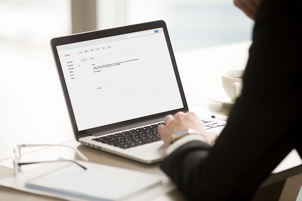 ビジネスメール宛名の書き方